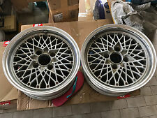 "2pc JDM 15"" SSR Speed Star racing mesh old school rims wheels ae86 ke70 watanabe"