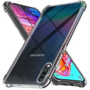Samsung galaxy CLEAR BUMPER Case For A10,A20,A30,A40,A50,A71,A90-5G,A30s,A21s