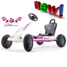 Ferbedo 008717 Go Kart Flower weiß/pink incl. Soundbox