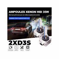 2 AMPOULES D3S 35W Lampe rechange remplacement feu Xenon HID 6000K Blanc Pur