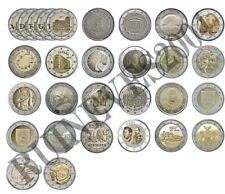 29 x 2 Euro Commemorative coins 2017 - Uncirculated Coins ** Complete SET * RAR