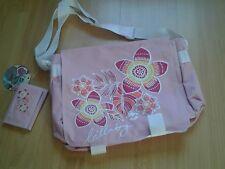 Billabong Pink Messenger Sac et portefeuille neuf avec étiquettes