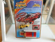 Matchbox Trick Shifters Mazda Savanna RX7 in Yellow on Blister