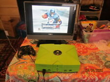 LIMITED EDITION MOUNTAIN DEW MICROSOFT XBOX WORKING AS-IS.