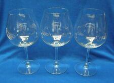 4 Riedel Crystal Vivant Pattern Pinot Noir Wine Glasses