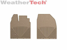 WeatherTech All Weather Floor Mats for Ford Edge/Lincoln MKX - 1st Row - Tan