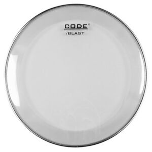 "20"" Code Blast Clear Bass Drum Batter Head // with Kick Patch"