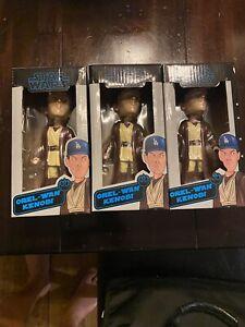 2021 LA Dodgers Orel Hershiser Orel-Wan Kenobi Star Wars Bobblehead