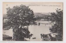 """CPA """" TREGUIER - La Rivière au Pont Saint François"""