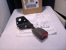 SEAT BELT KIT Rr Folding  Recepticle Grey NEW GM NOS Chevy Olds Buick Pontiac
