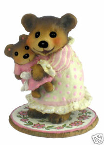Wee Forest Folk BB-14 Naptime with Dolly - Cream & Pink