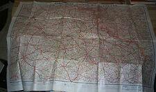 Carte Guide Campbell No 7 Vosges France Map - Automobile Club de France 1918