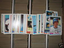 (10) 1982 Topps Lot - YOU PICK - FINISH YOUR SET - NM+