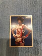 2009-10 Bowman '48 #94 Julius Erving New Jersey Nets Basketball Card