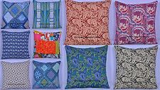 100 PC Wholesale Lot Quilted Embroidered Bohemian Pillow Cushion Cover Throw 16""