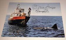 Richard Dreyfuss Autographed Jaws 11x17 Metal Print W/Pic Proof Coa