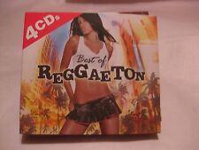 The Best Of Reggaeton 4 CD Set From Madacy Entertainment 2006          cd677