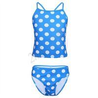Girls Halter Tankini Swim Suit Swimwear Swimming Costume Bathing Ages 0-14 Yrs