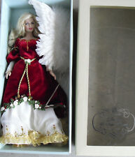 """Rare Franklin Mint Vinyl Faberge 2007 Angel Girl Unnumbered Prototype Doll 15"""" T"""