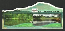 PHILIPPINES 2018 THAILAND 2018 OVERPRINT ON LAKES SOUVENIR SHEET 2 STAMPS MINT