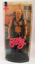 Billy Gay Leather Master Doll Totem New York Blonde Harness Boots BDSM Vest Hat