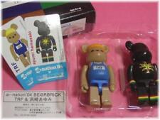 """Medicom a-nation 2004 """"TRF + ayumi hamasaki"""" Bearbrick Be@rbrick Boxset"""