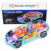 TOY CAR FLASHING LIGHTS MUSIC AMAZING TOY BATTERY OPERATED NEW
