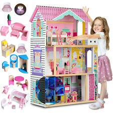 XXL Barbie Puppenhaus 3 Etagen Puppenstube Puppenvilla Puppen Aufzug Ricokids