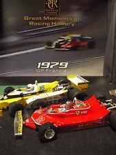 OFERTA SRC  900104 Ferrari 312 T4 Gilles Villeneuve  Renault RS10 Rene  Ed. Lit.