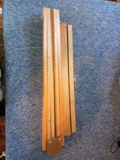 Vintage Weber 31 Artist Painters Easel Wood Tripod Portable Adjustable