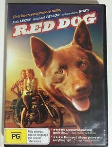 Red Dog - DVD R4 2011 - Josh Lucas - Rachael Taylor - Luke Ford - PG