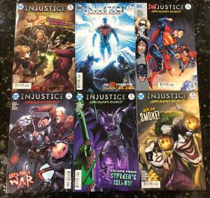 Injustice Ground Zero 7-12 - Christopher Sebela 7 8 9 10 11 12- Complete 2nd Vol