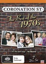 Coronation Street: The Best of the 1970's (DVD, 7 Box Disc Set) Region 4 - VGC