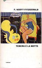 TENERA E' LA NOTTE F.SCOTT FITZGERALD 1961  EINAUDI (QA76)
