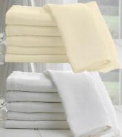 100% Egyptian Cotton Muslin Fabric White/Ivory/Cream Soft Craft Material 150cm