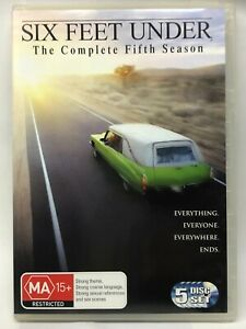 Six Feet Under - Complete Fifth Season - DVD - AusPost with Tracking