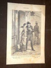 """Illustrazione Teresa Raquin di Émile Zola """"Lorenzo e Tesera al commissariato..."""""""
