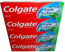 4 x COLGATE TRIPLE ACTION TOOTHPASTE 100ml