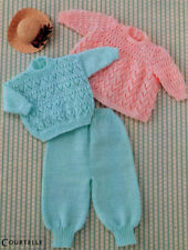 Angel Top TROUSERS Sweater Knitting Pattern Baby & Toddlers in 8 ply
