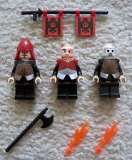 LEGO Avatar - Rare - Fire Nation - Prince Zuko Firebender & Soldier - Excellent