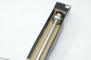 "New Complete Umbra Drapery Rod In Matte Nickel Finish 18""-36"""