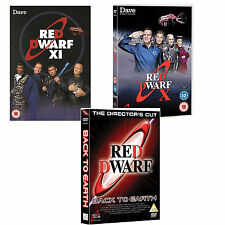 Red Dwarf Just The Shows Back to Earth + X + XI DVD R4