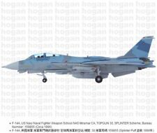 Hogan Wings 6542, F-14A, US Navy Naval Fighter Weapon School NAS Miramar CA