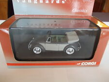 Corgi Vanguards 1/43 - VW Beetle Cabriolet - Delphin Grey
