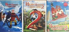 3DVD NTSC Best of Russian cartoons collection  IVAN TSAREVICH i SERIY VOLK 1,2,3