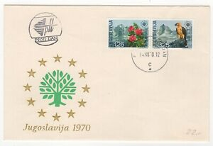 1970 Dec 14th. First Day Cover. Nature Conservation Year Issues.