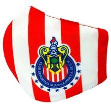 Las Chivas Guadalajara Sport Face Mask Shield Double Sheet with Filter Slot