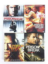 Prison Break L'intégrale Coffret Lot DVD / Saison 1 2 3 4 (sans la 5)