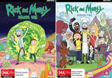 Rick And Morty Season 1 & 2 : NEW DVD