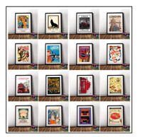 London Vintage Retro Posters Print In A3 A4 Fine Art Home Deco London UK Posters
